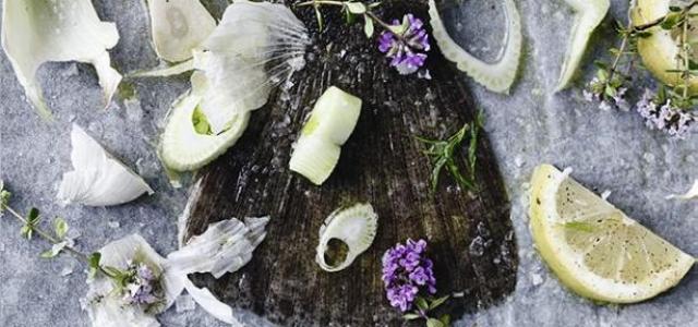 Recept Gebakken scholfilet met bloemkool en dille