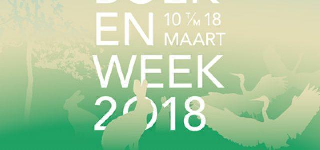 10 t/m 18 maart: Boekenweek