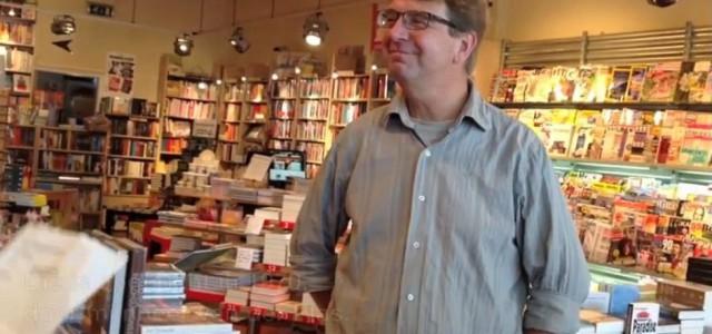 Boekhandel Van der Plas gefilmd voor Metropolis Noord