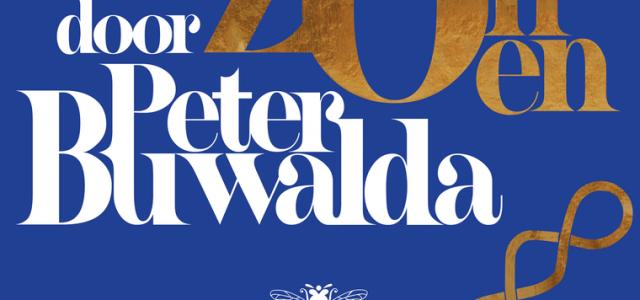 Peter Buwalda signeert