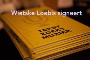 Wietske Loebis signeert én dicht @ Boekhandel van Noord