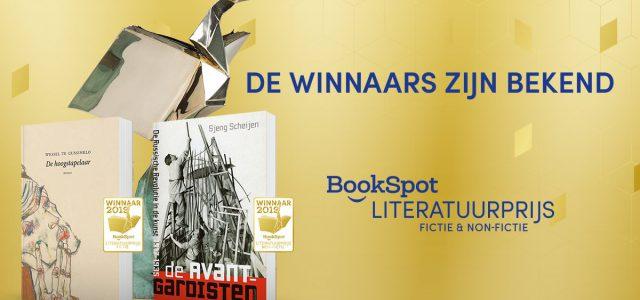 Winnaars Bookspot Literatuurprijzen bekend
